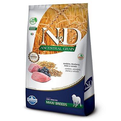 Ração para Cães Adultos Farmina N&D Ancestral Raças Grandes Cordeiro
