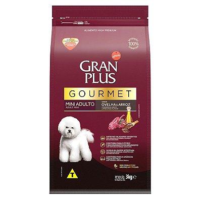 Ração para Cães Adultos Gran Plus Gourmet Raças Pequenas Ovelha e Arroz
