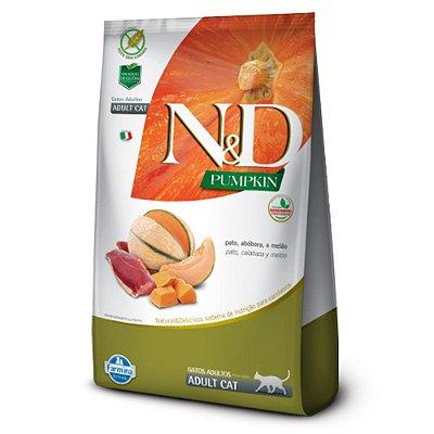 Ração para Gatos Adultos Farmina N&D Pumpkin Pato
