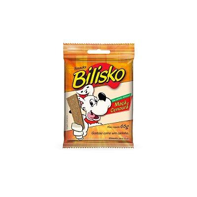 Bilisko Snacks para Cães sabor Maça e Cenoura 65 g