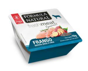 Ração Úmida para Cães Fórmula Natural Fresh Meat Gourmet Frango 70g