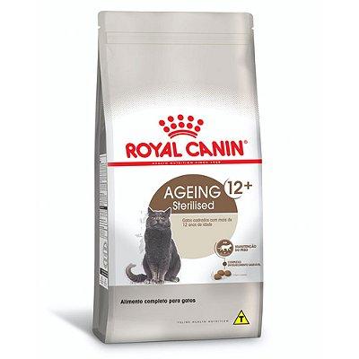 Ração para Gatos Idosos Royal Canin Sterilized 12+
