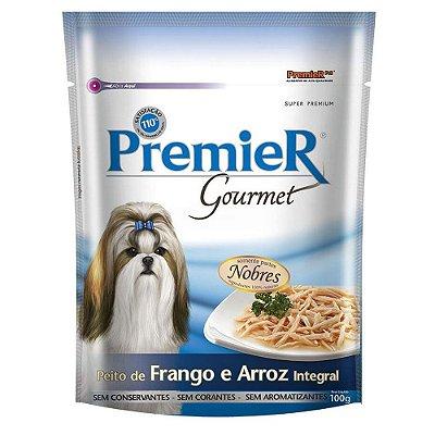 Ração para Cães Premier Gourmet Peito de Frango e Arroz Integral 100g