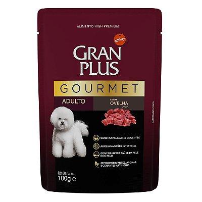 Ração Úmida para Cães Adultos Gran Plus Gourmet Sache Ovelha 100g