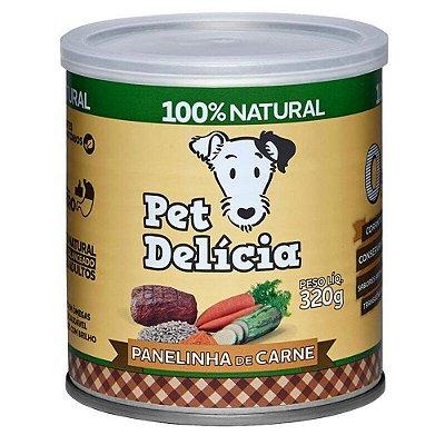 Ração Úmida para Cães Pet Delícia Panelinha de Carne 320g