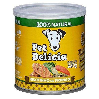 Ração Úmida para Cães Pet Delícia Risotinho de Frango 320g