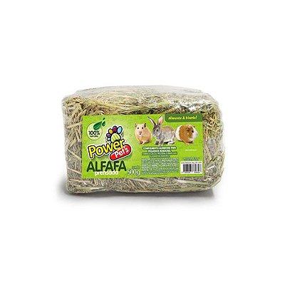 Power Pets Alfafa Prensada 500 g