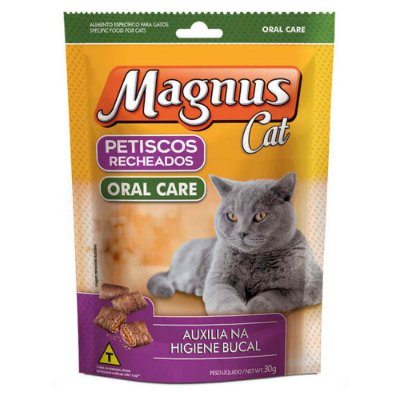 Petisco para Gatos Magnus Oral Care 30g