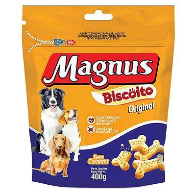 Biscoito para Cães Adultos Magnus Original 400g