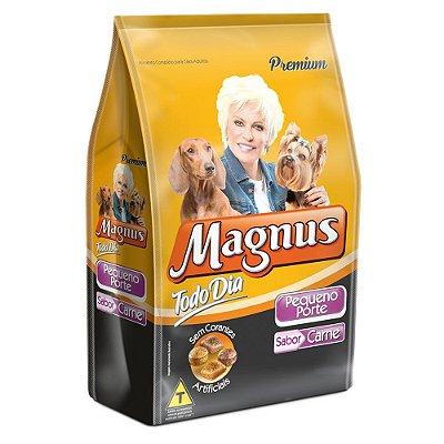 Ração para Cães Adultos Magnus Todo Dia Carne Pequeno Porte