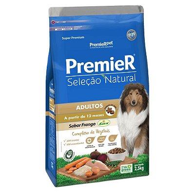 Ração Premier Seleção Natural para Cães Adultos 12kg
