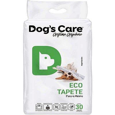"""Dog's Care - Tapete Higiênico """"Eco Tapetes"""" para Cães Médios - 30 unidades"""