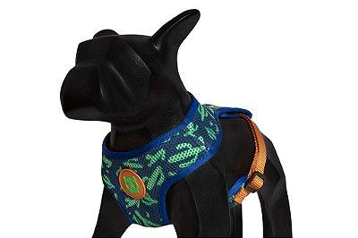 Zeedog Peitoral para Cachorros Air Mesh Guacamole
