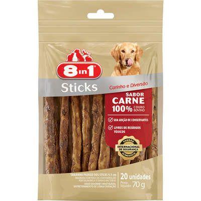 8IN1 STICKS CARNE 70G