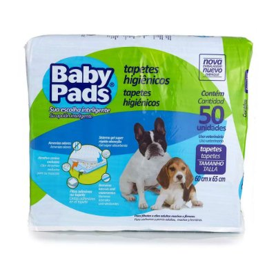 Baby Pads Tapete Higiênico - 50 Unidades