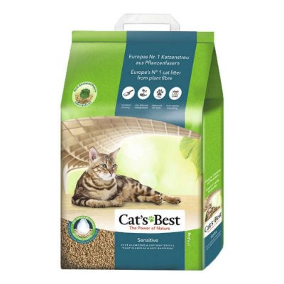 Cats Best Sensitive Granulado Sanitário 2,9kg