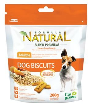 Biscoito para Cães Fórmula Natural Adultos Dog Biscuits 200g