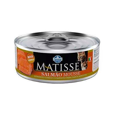 Matisse Mousse para Gatos Adultos sabor Slmão 85g