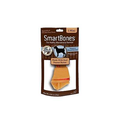 SmartBones Osso 1 Mini sabor Manteiga de Amendoim 16g