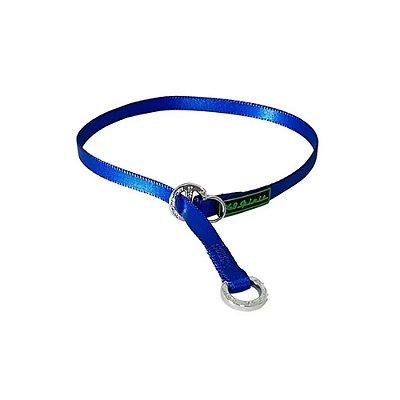 K9 Colar Poliester cor Azul Tam. M