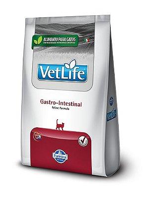 Ração para Gatos Vet Life Gastro Intestinal 400g