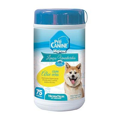 Pró Canine Lenços Umedecidos para Machos 75un