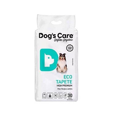 Dogs Care Eco Tapete Higiênico High Premium com 30 Unidades