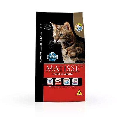Ração Matisse para Gatos Adultos Carne