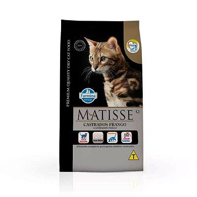 Ração Matisse para Gatos Castrados Frango