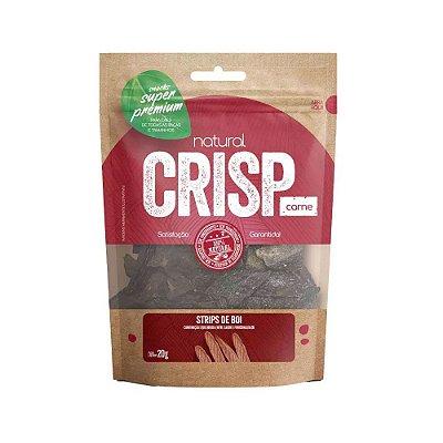 Natural Crips para Cães sabor Strips de Boi 20g