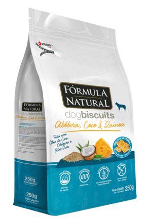Biscoito para Cães Fórmula Natural Abóbora, Coco e Quinoa 250g