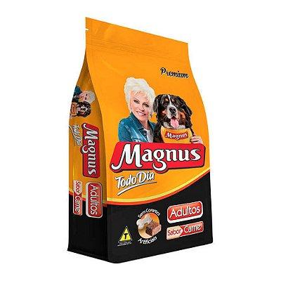 """Magnus para Cães Adultos """"Todo Dia"""" sabor Carne 15kg"""