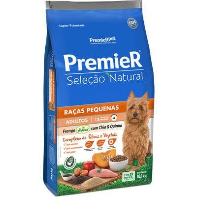 Ração para Cães Premier Seleção Natural Adulto Quinoa Raças Pequenas 1kg