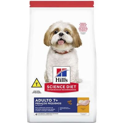 Ração para Cães Hills Adulto 7+ Pedaços Pequenos 2,4kg