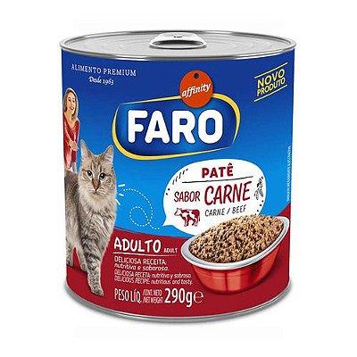 Alimento Úmido para Gatos Faro Lata Carne 290g