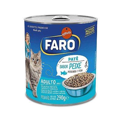 Alimento Úmido para Gatos Faro Lata Peixe 290g