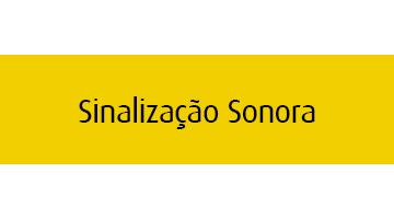Sinalização Sonora