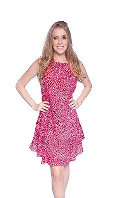 Vestido feminino Bolas Rosa
