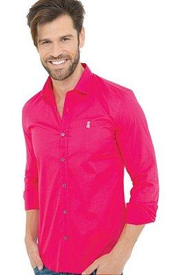 Camisa Masculina Básica Pink