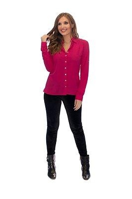Camisa Feminina Básica Pink