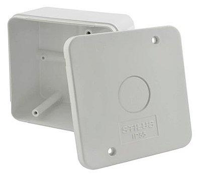 Caixa de Sobrepor para Acoplamento de Conectores - Kit com 50 Unidades