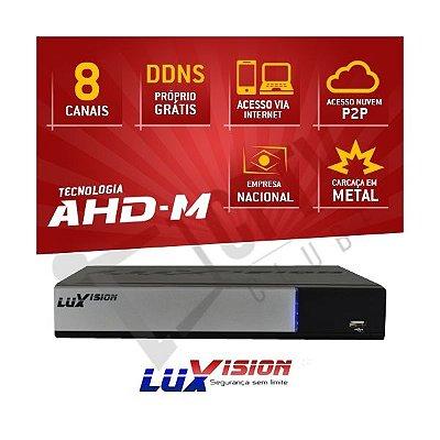 DVR AHD-M HÍBRIDO LUXVISION 8 CANAIS - HDMI