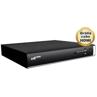 DVR LUXVISION 32 CANAIS 3 EM 1 HDMI