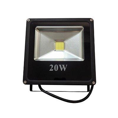 Refletor de LED 20w Externo IP66