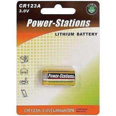 BATERIA CR123A 3V POWER STATIONS