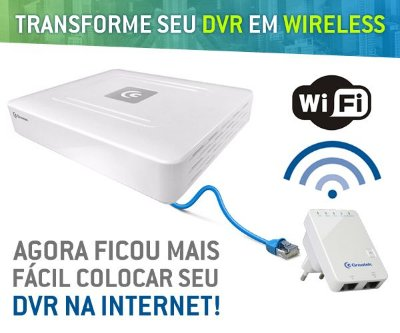 REPETIDOR PARA DVR WIFI GREATEK 300MBPS