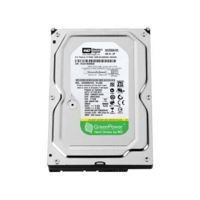 HD SATA WESTERN DIGITAL GREEN 250GB PARA DVR