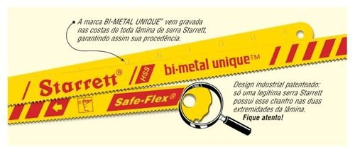 Serra Manual Starrett Bi-Metal