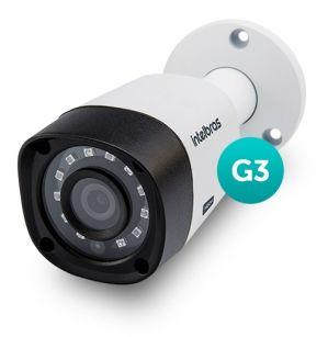 Câmera Intelbras Multi HD 3120B G4 Alta Definição (1.0MP | 720p | 2.8mm | Metal)