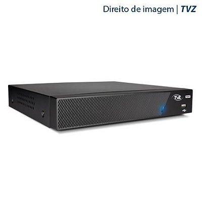 DVR STAND ALONE 4 CANAIS TECVOZ TVZ FLEX 4 EM 1